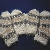 Аксессуары handmade. Livemaster - original item Children`s knitted set Three colors of Leo. Handmade.