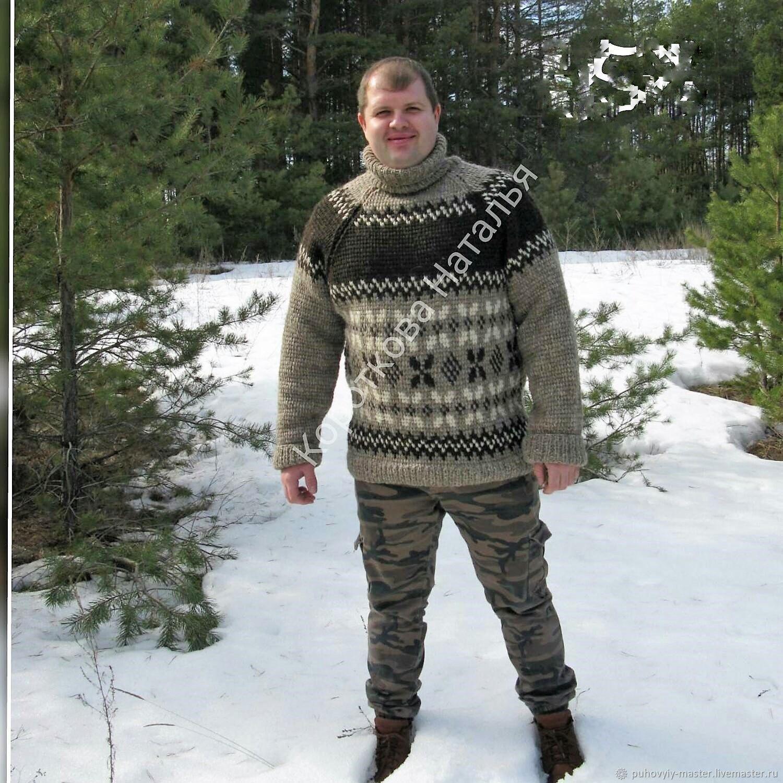 Кофты и свитера ручной работы. Ярмарка Мастеров - ручная работа. Купить Свитер грубой вязки для мужчин и женщин. Handmade. Подарок
