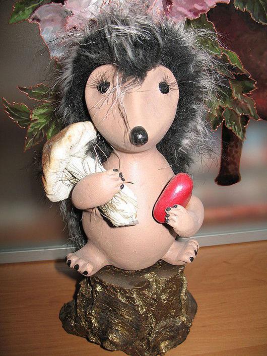 """Игрушки животные, ручной работы. Ярмарка Мастеров - ручная работа. Купить Фигурка """"Дарю тебе мое сердце"""". Handmade."""