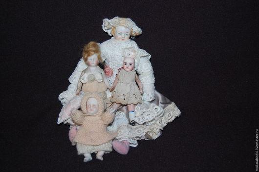 Винтажные куклы и игрушки. Ярмарка Мастеров - ручная работа. Купить Фарфоровые малютки. Handmade. Бежевый, куколка для куколки