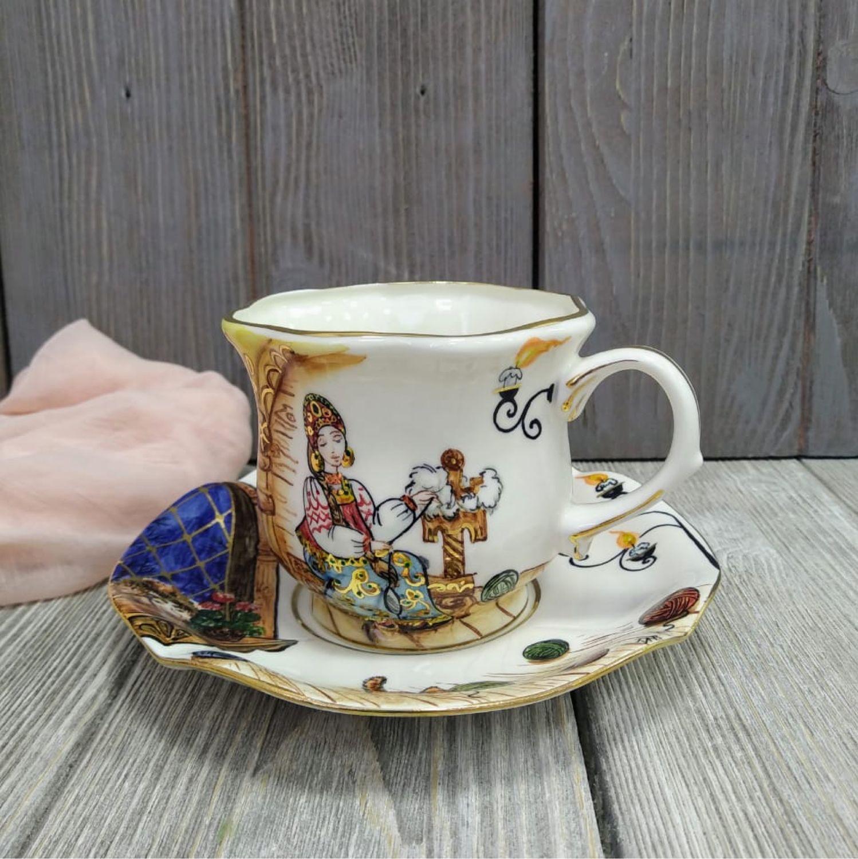 Чайная пара «СКАЗКА О ЦАРЕ САЛТАНЕ», Чайные пары, Москва,  Фото №1