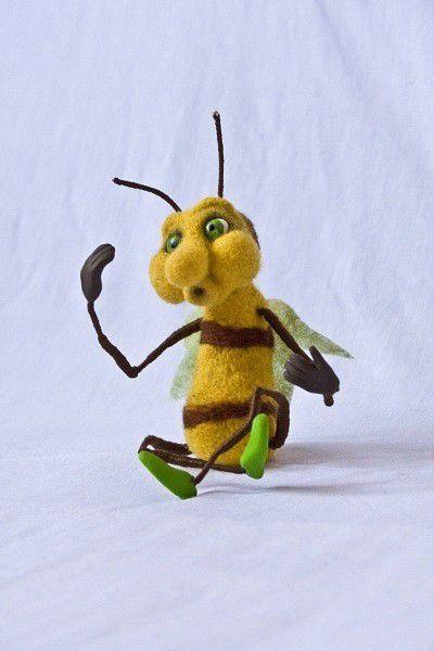 Игрушки животные, ручной работы. Ярмарка Мастеров - ручная работа. Купить Пчелка. Handmade. Игрушка, авторская игрушка, подарок