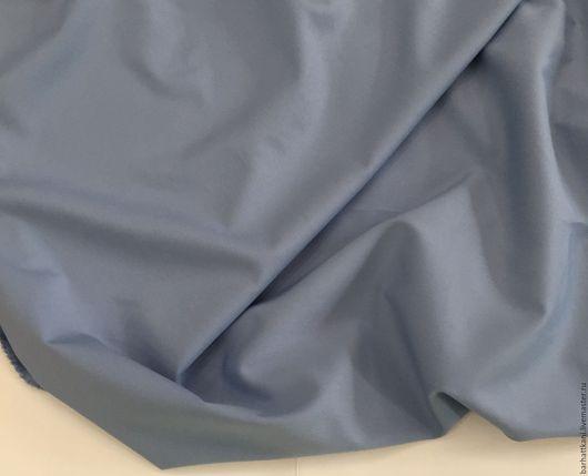 Шитье ручной работы. Ярмарка Мастеров - ручная работа. Купить Итальянская костюмная ткань. Handmade. Голубой