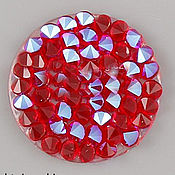Материалы для творчества ручной работы. Ярмарка Мастеров - ручная работа Crystal Rocks  Light Siam Shimmer Кристал Рокс. Handmade.