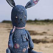 Куклы и игрушки ручной работы. Ярмарка Мастеров - ручная работа Заяц Бартош. Большой Бохо-заяц. Handmade.