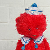 Куклы и игрушки handmade. Livemaster - original item Teddy bear Sailor (18 cm). Handmade.