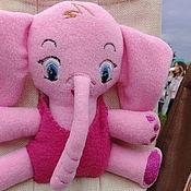 """Работы для детей, ручной работы. Ярмарка Мастеров - ручная работа Сумочка """"Розовый слон"""". Handmade."""