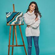 Одежда handmade. Livemaster - original item Fluffy Angora sweater. Handmade.