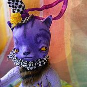 Куклы и игрушки handmade. Livemaster - original item cat Rises. Handmade.