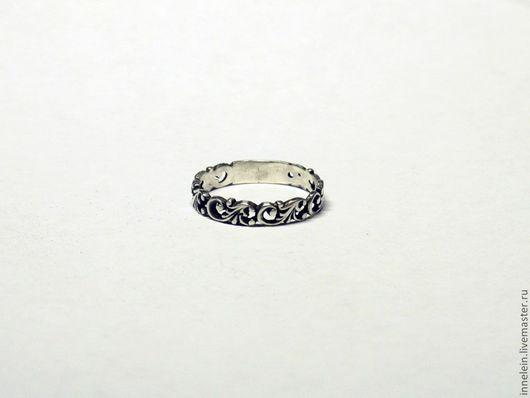 """Кольца ручной работы. Ярмарка Мастеров - ручная работа. Купить Серебряное кольцо """"Эльфийское"""". Handmade. Серебряный, серебряное кольцо"""