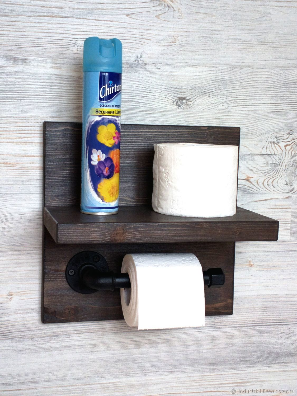 Оригинальный держатель туалетной бумаги своими руками фото 538