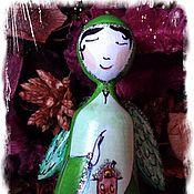 """Сувениры и подарки ручной работы. Ярмарка Мастеров - ручная работа Колокольчики """"Мне нужен ангел"""". Handmade."""
