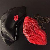 Сумки и аксессуары handmade. Livemaster - original item Clutch Juicy lips. Handmade.