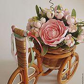 Цветы и флористика ручной работы. Ярмарка Мастеров - ручная работа Цветочная композиция. Handmade.