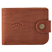 Сумки и аксессуары handmade. Livemaster - original item Leather wallet