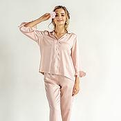 Pyjamas handmade. Livemaster - original item Women`s pajamas with pants