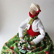 Куклы Тильда ручной работы. Ярмарка Мастеров - ручная работа Встреча Рождества. Handmade.