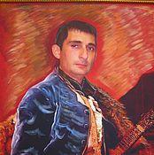 Картины и панно ручной работы. Ярмарка Мастеров - ручная работа Портрет мужской по Вашему фото. Handmade.