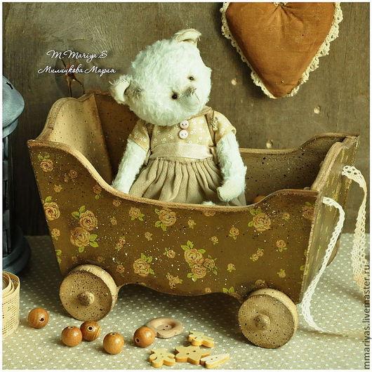 """Корзины, коробы ручной работы. Ярмарка Мастеров - ручная работа. Купить Деревянная ретро игрушка """"Кузовок"""". Handmade. Игрушки, для девочки"""