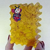Косметика ручной работы handmade. Livemaster - original item Soap, Honey (amber). Handmade.