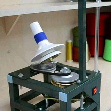Материалы для творчества ручной работы. Ярмарка Мастеров - ручная работа Моталка для перемотки пряжи с электродвигателем,  регулятором скорости. Handmade.
