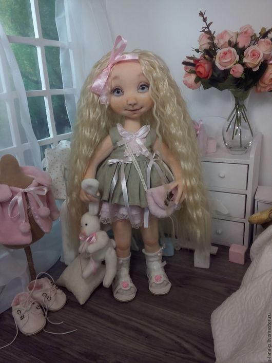 Коллекционные куклы ручной работы. Ярмарка Мастеров - ручная работа. Купить Авторская интерьерная коллекционная кукла.Со сменным гардеробом. Handmade.