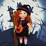 Куклы и игрушки ручной работы. Ярмарка Мастеров - ручная работа Ведьмочка Анна. Handmade.