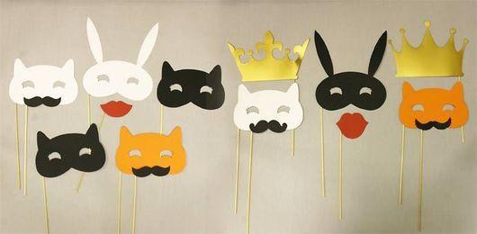 """Аксессуары для фотосессий ручной работы. Ярмарка Мастеров - ручная работа. Купить Фотобутафория """"Котики"""". Handmade. Рыжий, кот, котики, усы"""