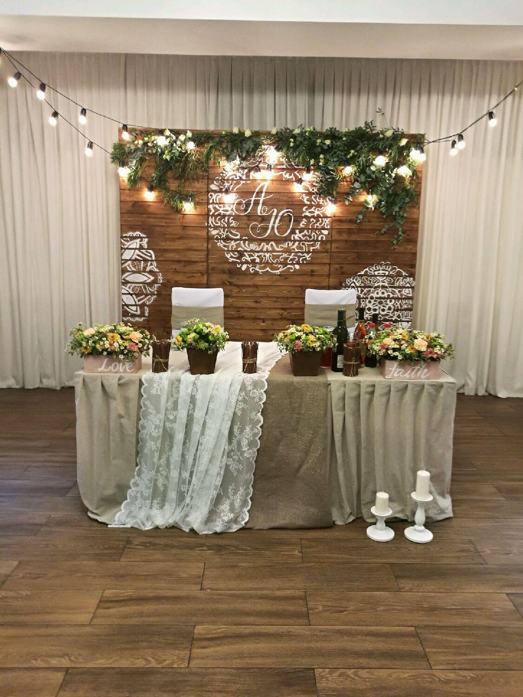 Оформление столов для свадьбы фото