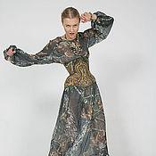 Одежда ручной работы. Ярмарка Мастеров - ручная работа Платье Малахит. Handmade.