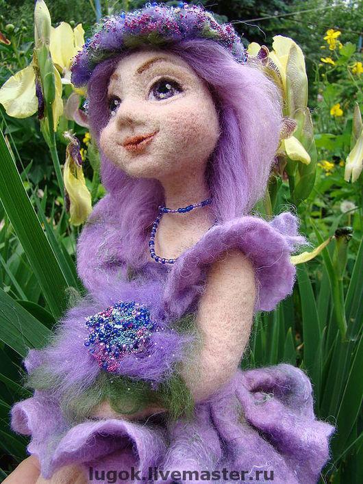 """Ароматизированные куклы ручной работы. Ярмарка Мастеров - ручная работа. Купить По мотивам работы: кукла""""Сиреневая девочка"""". Handmade. Кукла"""