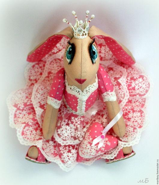 Куклы Тильды ручной работы. Ярмарка Мастеров - ручная работа. Купить Зайка принцесса Розовых облаков. Handmade. Зайка, зайчик