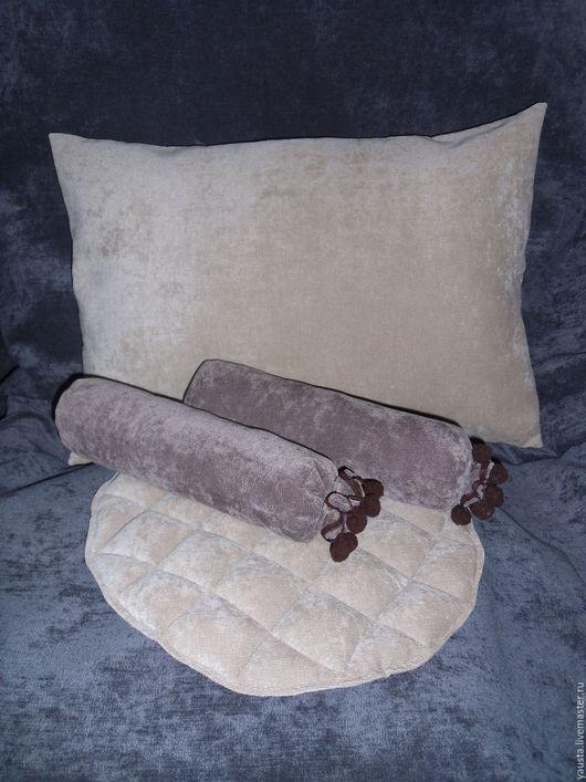 Текстиль, ковры ручной работы. Ярмарка Мастеров - ручная работа. Купить Подушки и наволочки разных форм ,размеров, цветов.. Handmade.