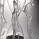 Статуэтки ручной работы. Девушка и смерть. Попов Вячеслав Анатольевич (glassinflame). Ярмарка Мастеров. Песочные часы