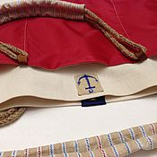 Сумки и аксессуары handmade. Livemaster - original item Bag red