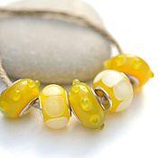 Материалы для творчества handmade. Livemaster - original item Beads for bracelet