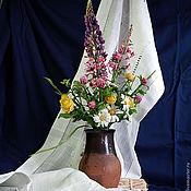 """Цветы и флористика ручной работы. Ярмарка Мастеров - ручная работа """"Лето в кринке"""". Handmade."""