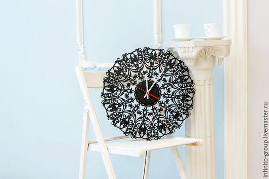 """Часы для дома ручной работы. Ярмарка Мастеров - ручная работа. Купить Настенные часы """"Глориум"""". Handmade. Комбинированный, часы настенные"""