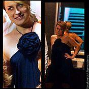 """Одежда ручной работы. Ярмарка Мастеров - ручная работа платье вечернее """"Нежный цветок"""". Handmade."""