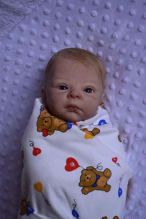 Куклы-младенцы и reborn ручной работы. Ярмарка Мастеров - ручная работа. Купить кукла реборн Злата. Handmade. Кукла