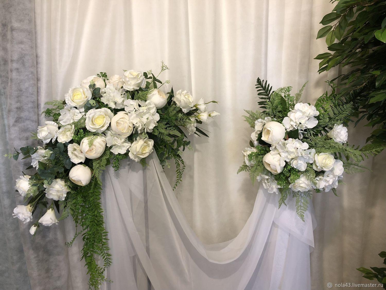 Свадебные цветы ручной работы. Ярмарка Мастеров - ручная работа. Купить Композиция цветочная  для свадьбы. Handmade. Цветы, украшение для машины