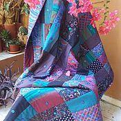 Для дома и интерьера ручной работы. Ярмарка Мастеров - ручная работа Quilt Лоскутное покрывало Галактика. Handmade.