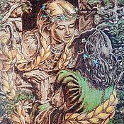 """Картины и панно ручной работы. Ярмарка Мастеров - ручная работа Картина """"Рапунцель"""". Handmade."""