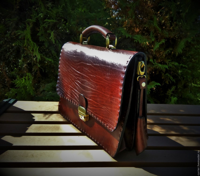 2d8a2901f8da Мужские сумки ручной работы. Ярмарка Мастеров - ручная работа. Купить Портфель  мужской.