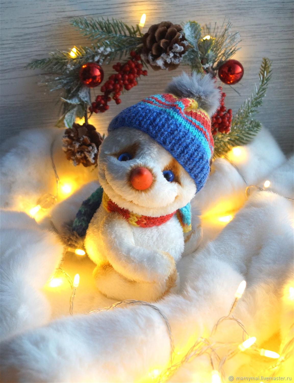 Снеговик, Мягкие игрушки, Боготол,  Фото №1