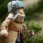 Куклы и игрушки handmade. Livemaster - original item Christmas toys, Cotton toys from the