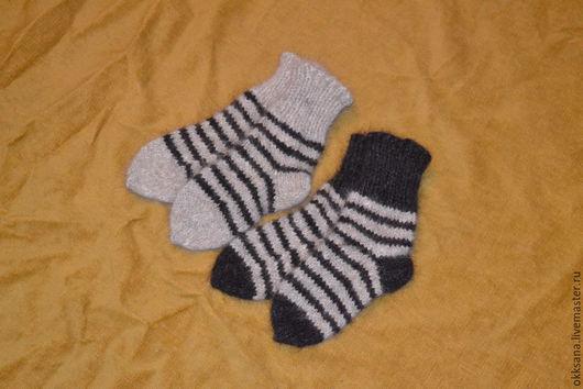 Носки, Чулки ручной работы. Ярмарка Мастеров - ручная работа. Купить Носки из собачьей шерсти. Handmade. Серый, лечебные носки