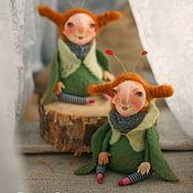 Куклы и игрушки ручной работы. Ярмарка Мастеров - ручная работа Букашки первоапрельские. Handmade.