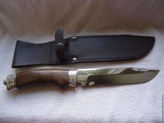 """Подарки для мужчин, ручной работы. Ярмарка Мастеров - ручная работа. Купить Нож """"Интеллигент"""". Handmade. Коричневый, Нож ручной работы"""