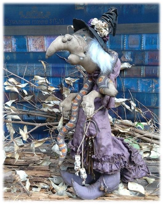 Коллекционные куклы ручной работы. Ярмарка Мастеров - ручная работа. Купить Злая волшебница Гингема. Handmade. Тёмно-фиолетовый, кофе